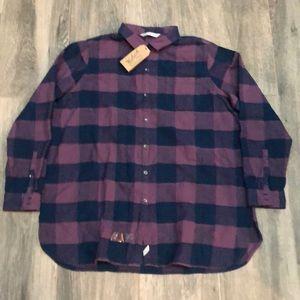 NWT Woolrich Flannel Shirt